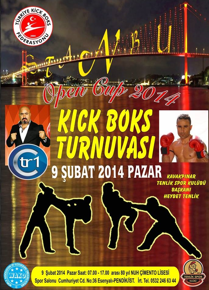 Kick Boks open cup 2014