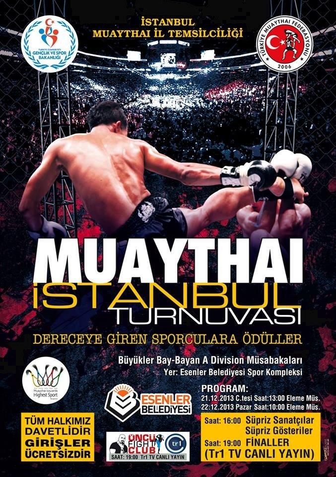 istanbul muaythai turnuvası